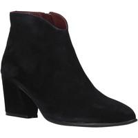 Schuhe Damen Low Boots Bueno Shoes 20WR5102 Schwarz