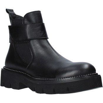 Schuhe Damen Low Boots Bueno Shoes 20WR3404 Schwarz