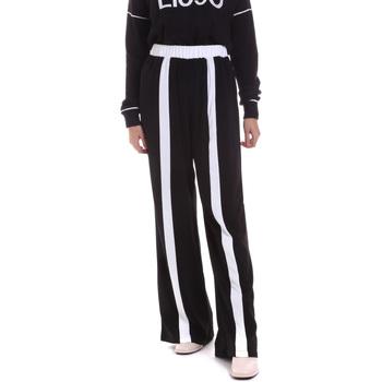Kleidung Damen Hosen Liu Jo TF0134 T8423 Schwarz