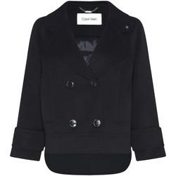 Kleidung Damen Mäntel Calvin Klein Jeans K20K202461 Schwarz