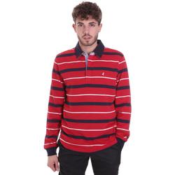 Kleidung Herren Langärmelige Polohemden Navigare NV30030 Rot