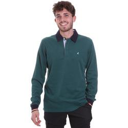 Kleidung Herren Langärmelige Polohemden Navigare NV32023 Grün