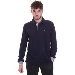 Kleidung Herren Langärmelige Polohemden Navigare NV32023 Blau