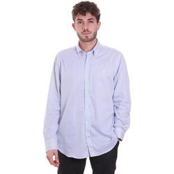 Kleidung Herren Langärmelige Hemden Navigare NV91111 BD Blau