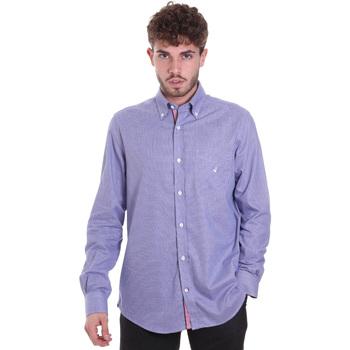 Kleidung Herren Langärmelige Hemden Navigare NV91133 BD Blau