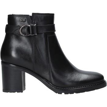 Schuhe Damen Low Boots Valleverde 46084 Schwarz