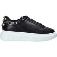 Schuhe Damen Sneaker Low Gold&gold B20 GA576 Schwarz
