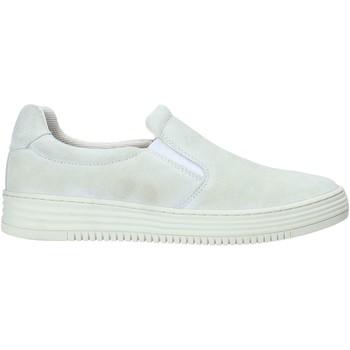 Schuhe Damen Slip on Mally M013 Weiß