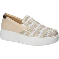 Schuhe Damen Slip on Exton E02 Rosa