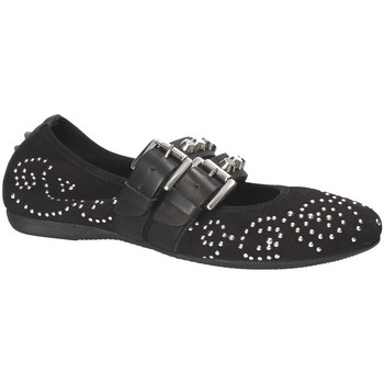 Schuhe Damen Ballerinas Mally 6097 Schwarz