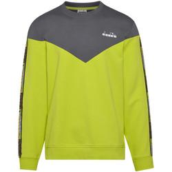 Kleidung Herren Sweatshirts Diadora 502176428 Grün