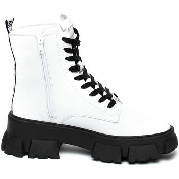 Schuhe Damen Boots Steve Madden SMSTANKER-WHTLEA Weiß