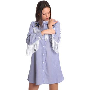 Kleidung Damen Kurze Kleider Denny Rose 811DD10018 Blau