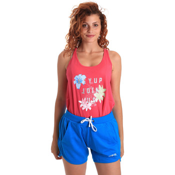 Kleidung Damen Jogginganzüge Key Up 5K78A 0001 Rosa