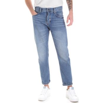 Kleidung Herren Straight Leg Jeans Antony Morato MMDT00226 FA700111 Blau