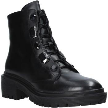 Schuhe Damen Boots Apepazza F0COMBAT07/DIA Schwarz
