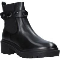 Schuhe Damen Low Boots Apepazza F0COMBAT08/DIA Schwarz