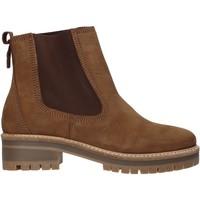 Schuhe Damen Low Boots Docksteps DSW103501 Braun