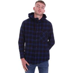 Kleidung Herren Langärmelige Hemden Antony Morato MMSL00636 FA410149 Blau
