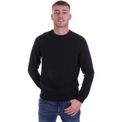 Kleidung Herren Pullover Antony Morato MMSW01149 YA200066 Blau