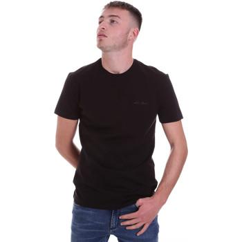 Kleidung Herren T-Shirts Antony Morato MMKS01855 FA120022 Schwarz