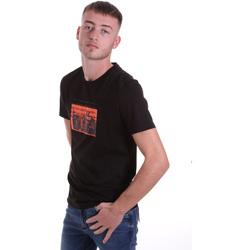 Kleidung Herren T-Shirts Antony Morato MMKS01880 FA100144 Schwarz
