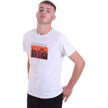 Kleidung Herren T-Shirts Antony Morato MMKS01880 FA100144 Weiß