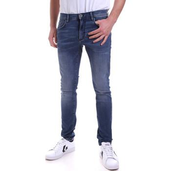 Kleidung Herren Röhrenjeans Antony Morato MMDT00234 FA750251 Blau