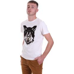 Kleidung Herren T-Shirts Antony Morato MMKS01878 FA100144 Weiß