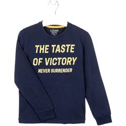 Kleidung Jungen Sweatshirts Losan 023-1007AL Blau
