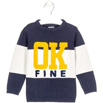 Kleidung Jungen Pullover Losan 025-5003AL Blau