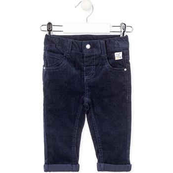 Kleidung Kinder 5-Pocket-Hosen Losan 027-9001AL Blau