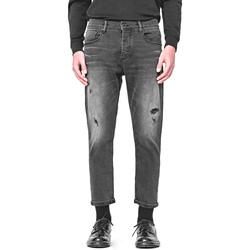 Kleidung Herren Straight Leg Jeans Antony Morato MMDT00251 FA750284 Schwarz
