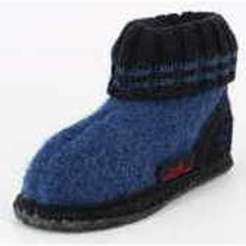Schuhe Hausschuhe Beck 755 34 Unisex Hüttenschuh Blau Blau