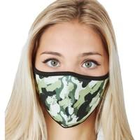 Accessoires Damen Masken Abbacino 90224 90 Grün