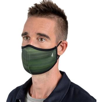 Accessoires Damen Masken Abbacino 90260 90 Grün