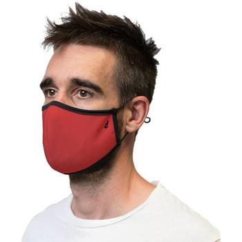 Accessoires Damen Masken Abbacino 90225 70 Rot