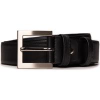 Accessoires Herren Gürtel Nae Vegan Shoes BeltBruc_Black Schwarz