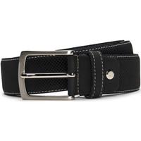 Accessoires Herren Gürtel Nae Vegan Shoes BeltCanet_Black Schwarz