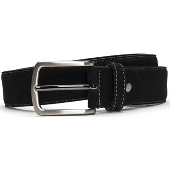 Accessoires Herren Gürtel Nae Vegan Shoes BeltGava_Black Schwarz