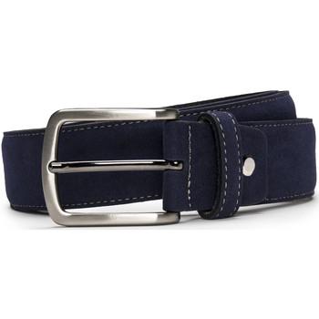 Accessoires Herren Gürtel Nae Vegan Shoes BeltGava_Blue Blau