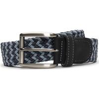 Accessoires Herren Gürtel Nae Vegan Shoes BeltPrat_Blue Blau