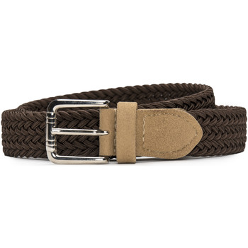 Accessoires Damen Gürtel Nae Vegan Shoes BeltVila_Brown Braun