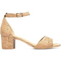 Schuhe Damen Sandalen / Sandaletten Nae Vegan Shoes Cora_Brown Braun