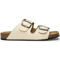 Schuhe Pantoffel Nae Vegan Shoes Darco_Pinatex_White Weiss