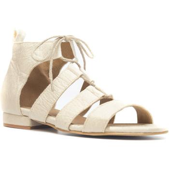 Schuhe Damen Sandalen / Sandaletten Nae Vegan Shoes Hera_White Weiss