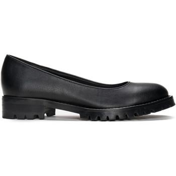 Schuhe Damen Ballerinas Nae Vegan Shoes Lili_Black_Micro Schwarz