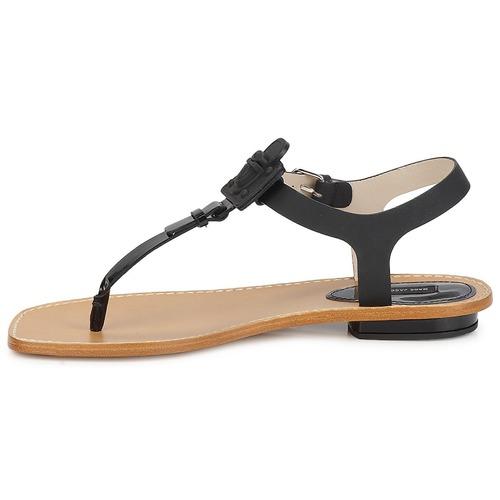 Marc Jacobs CHIC CALF Schwarz Schuhe Sandalen / Sandaletten Damen 198