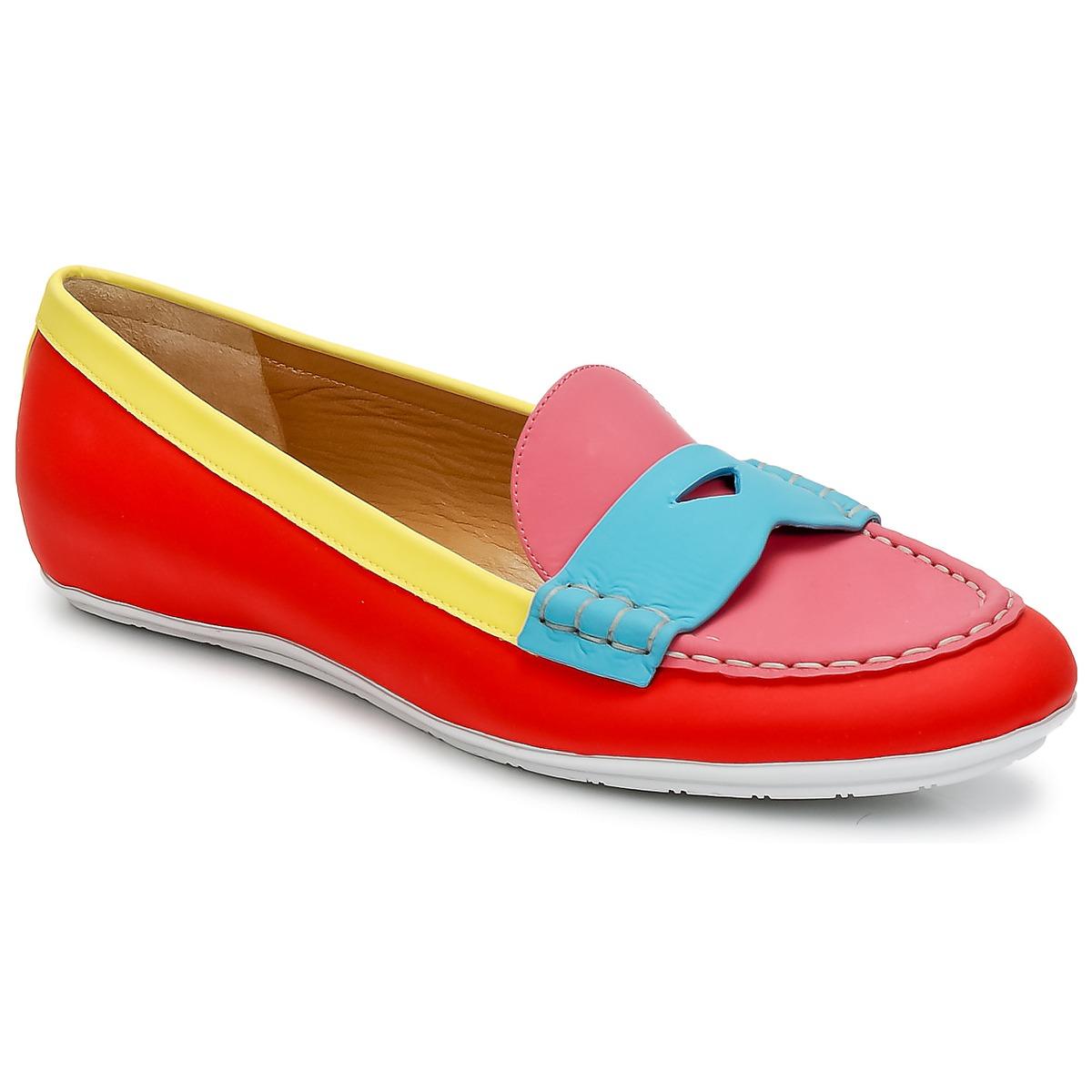 Marc Jacobs SAHARA SOFT CALF Multifarben - Kostenloser Versand bei Spartoode ! - Schuhe Slipper Damen 197,50 €