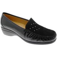 Schuhe Damen Slipper Calzaturificio Loren LOK4020ne nero